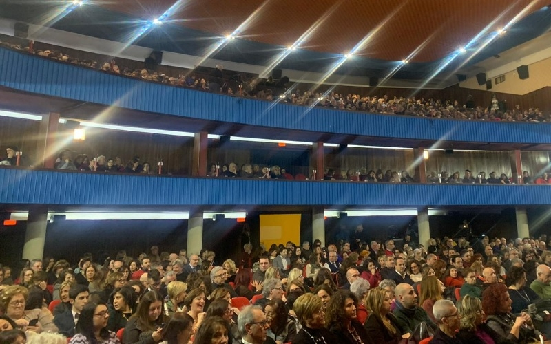 TERZO SOLD OUT STAGIONALE IERI SERA AL CINETEATRO GARDEN